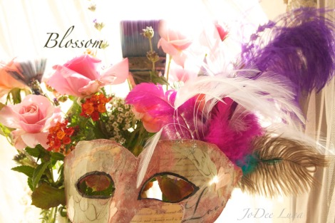 blossom Masquerade Mask Created by JoDee Luna