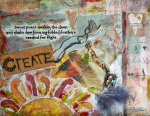 Create Mixed Media by JoDee Luna