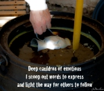Deep Cauldron of Emotions by JoDee Luna