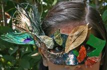 Forest Mask Modeled by Elya Filler