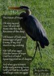 Heron of Hope by JoDee Luna