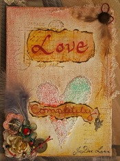 Love Completely Mixed Media by JoDee Luna