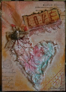 Love Mixed Media by JoDee Luna