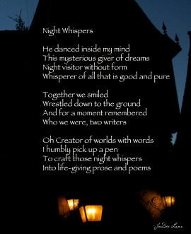 Night Whispers by JoDee Luna