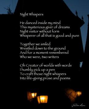 Night Whispers by JoDee Luna