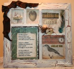 Oh Little Sparrow Mixed  Media by JoDee Luna