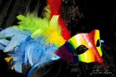 Rainbow Mask created by Elya Filler and JoDee Luna