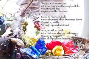 Sing my Soul so Sweetly by JoDee Luna