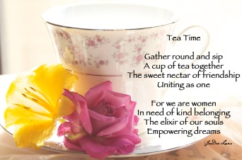 Tea Time by JoDee Luna