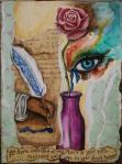 Tears in a Bottle, Mixed Media by JoDee Luna
