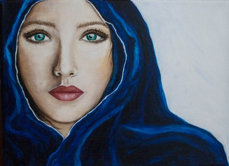 The Whisper Acrylic Painting by JoDee Luna955
