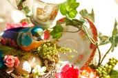 Colonial Teacup Floral