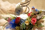 Delft Teacup Bed Coil Floral