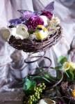 Nest on Spring Lavendar