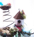 Tin Treehouse with Nest