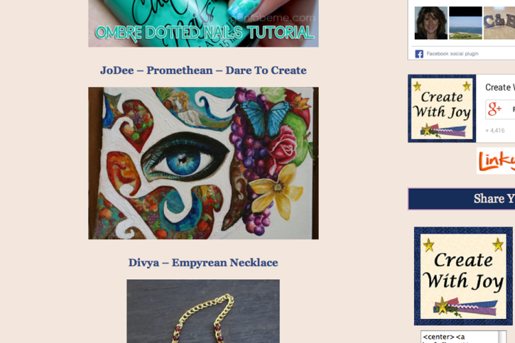 Promethean Featured on Create with Joy Website
