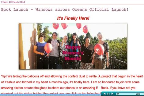 Windows Across Oceans Book Launch