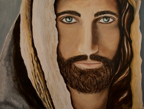 The Messenger depicts Jesus, the Messiah who brings hope, mercy, and grace to humankind.