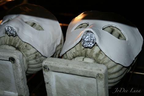 Baking Masquerade Masks JoDee Luna
