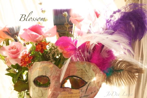 Blossom Masquerade Mask by JoDee Luna