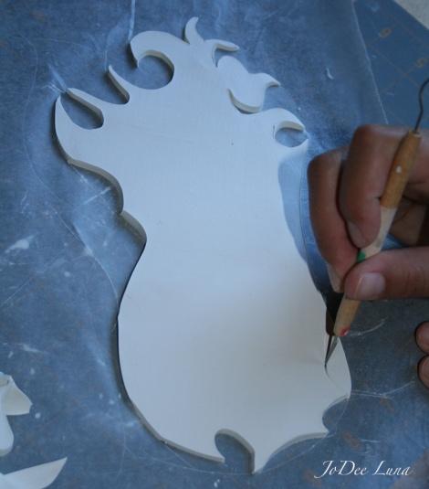 Carving Masquerade Mask 2 JoDee Luna