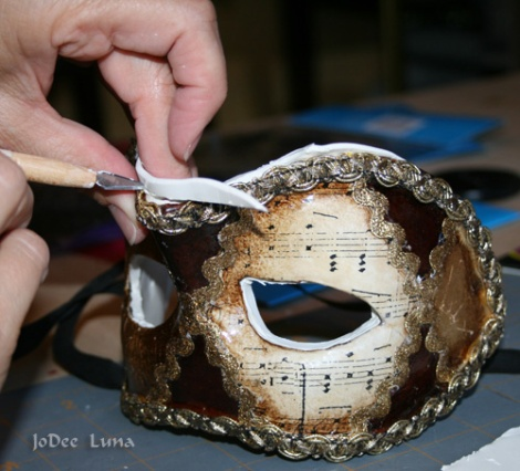 Carving Masquerade Mask JoDee Luna