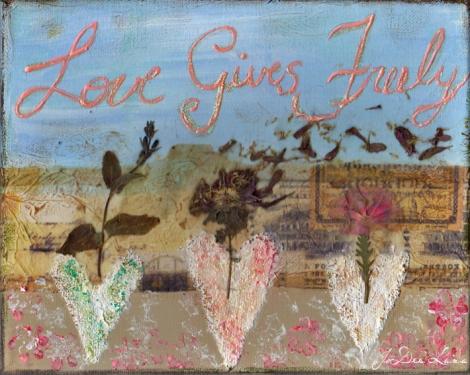 Love Gives Freely Mixed Media Mixed_710