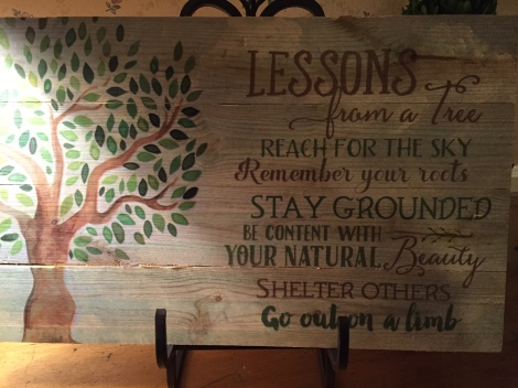 Lessons from a Tree